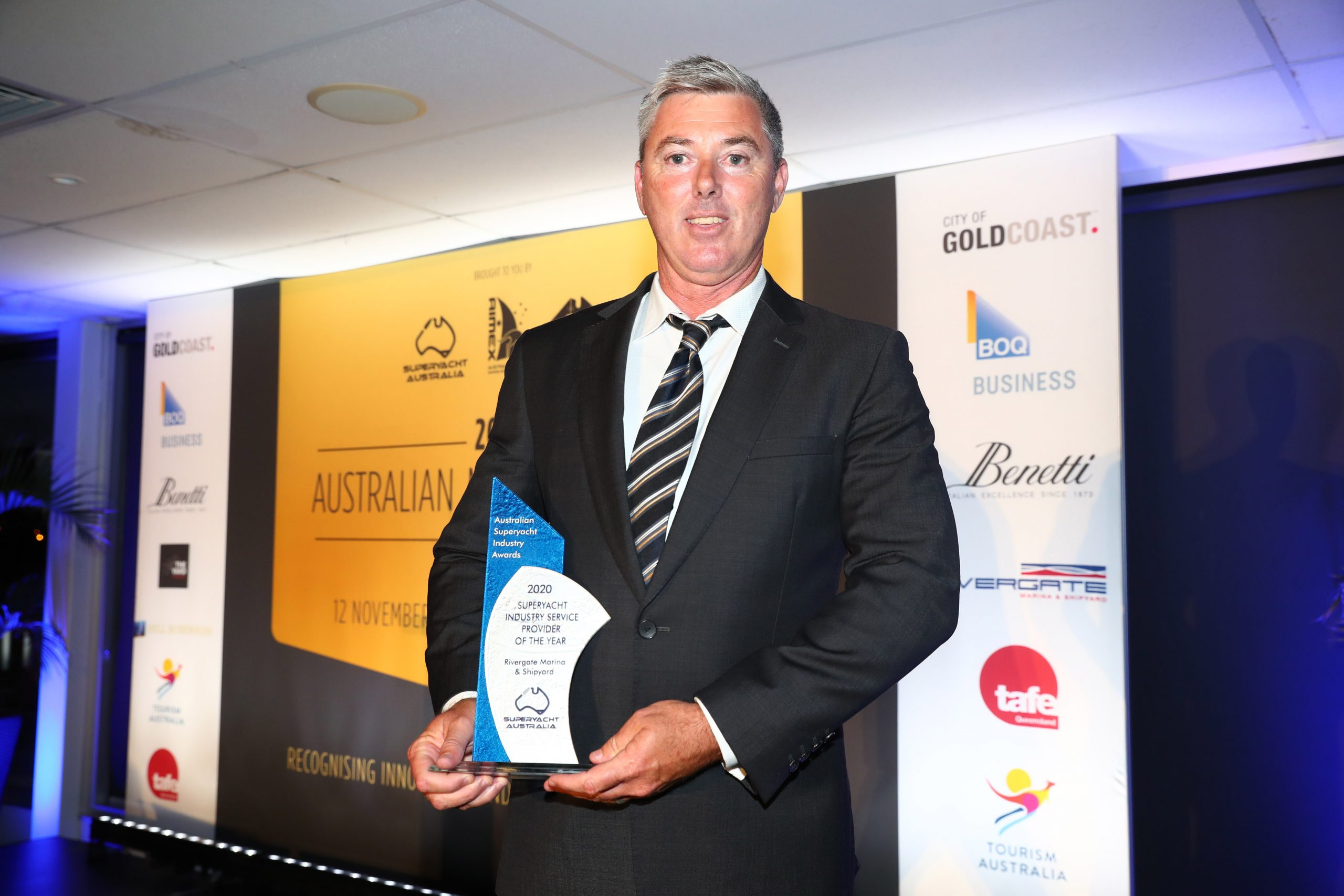 4. Andrew Cannon – Rivergate Marina and Shipyard – Superyacht Industry Service Provider of the Year Winner